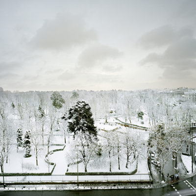 Parque del Retiro nevado 383,2 mb rgb16